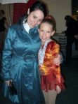 K8: With a student at a competition
